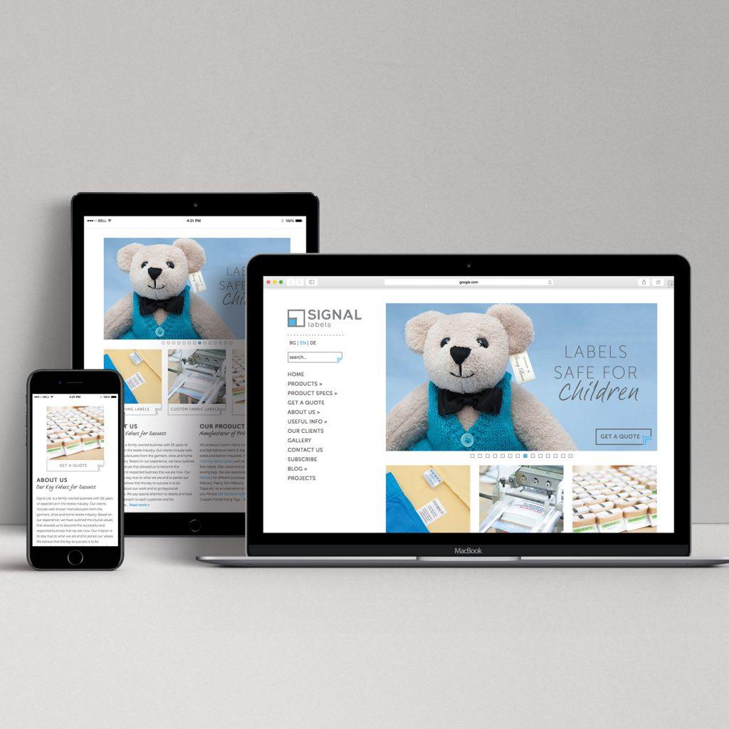 Web pages design