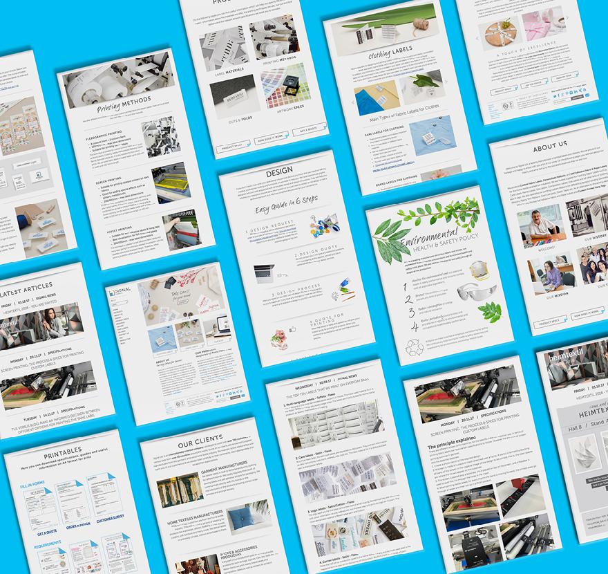 уеб сайт и стил
