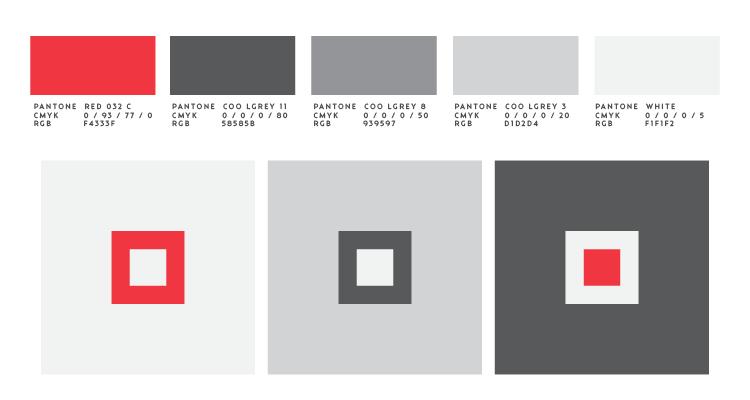 Цветова палитра за корпоративна идентичност